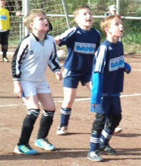 F2 - Freundschaftsspiel gegen TV Kloppenheim am 19.04.2012