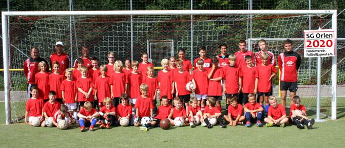 Fußballcamp 2012 der SGO-Jugend